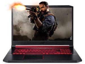 Acer Nitro 5 Intel i7 – 9th Gen 17.3-inch Display Laptop (8GB RAM/ 1TB HDD/ Window 10 Home/ 4GB NVIDIA GeForce GTX 1650 Graphics) for Rs.59990 @ Amazon