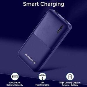 Ambrane 10000mAh Li-Polymer Powerbank with Fast Charging for Rs.399 @ Amazon