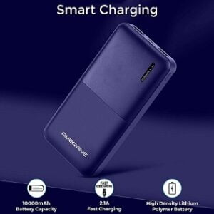 Ambrane 10000mAh Li-Polymer Powerbank with Fast Charging