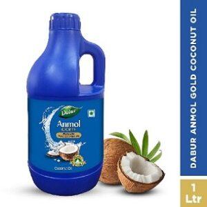 Dabur Anmol Gold 100% Pure Coconut Oil 1 L