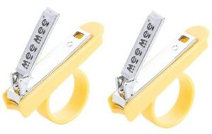 Mee Mee Gentle Nail Clipper with Easy Grip (Pack of 2)