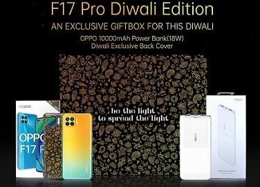 OPPO F17 Pro (8GB RAM 128GB Storage) Gift Box for Rs.23990 @ Amazon