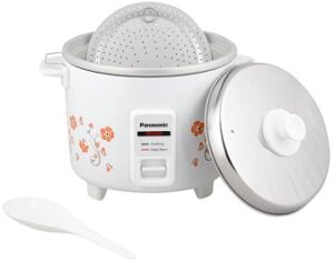 Panasonic SR-WA10H(E) 450-Watt Automatic Cooker Warmer - 2.7 Litre