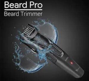 SYSKA HT200U Beard Pro Trimmer Runtime 40 Mins Cordless for Rs.685 @ Amazon