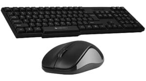 Zebronics Zeb-Companion 107 Wireless Keyboard and Mouse Combo with Nano Receiver