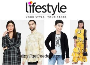 Lifestyle Fashion Sale (Buy 1 Get 1 Free): Upto 60% Off on Clothing, Footwear & Accessories + Extra 15% off