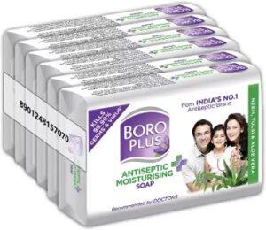 Boroplus Antiseptic Plus Moisturising Soap – Neem Tulsi and Aloe Vera (6 x 125g) for Rs.198 @ Flipkart