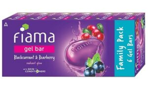 Fiama Gel Bar Blackcurrant and Bearberry (125g x 6) for Rs.252 @ Amazon