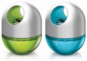 Godrej AER Twist, Car Air Freshener – Cool Surf Blue & Fresh Lush Green (45g) for Rs.379 @ Amazon