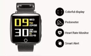 Lenovo Carme Smartwatch for Rs.1999 @ Flipkart