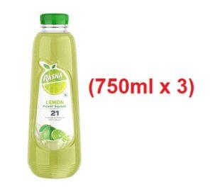 Rasna Squash Lemon (750mlx3) for Rs.298 @ Amazon