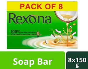 Rexona Coconut & Olive Oil Soap (150g x 8)