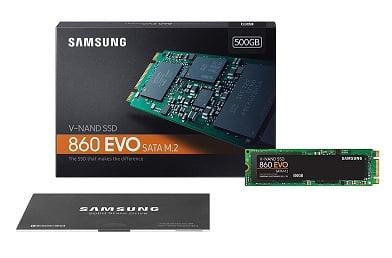 Samsung 860 EVO 500GB SATA M.2 (2280) Internal SSD for Rs.5379 @ Amazon