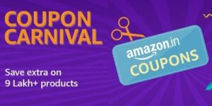 Amazon Coupon Carnival – Extra Discount Coupon for All Categories
