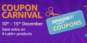 Amazon Coupon Carnival - Extra Discount Coupon for All Categories