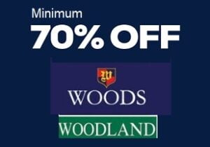Woods by Woodland – Men's Footwear Min 70% Off @ Amazon