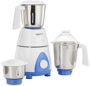 AmazonBasics Premium 750 Watt Mixer Grinder with 3 Jars
