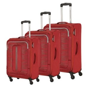 American Tourister Brisbane Polyester Red Softsided Luggage for Rs.7597 @ Amazon