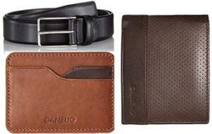 Camelio Belt & Wallet 90% Off @ Amazon