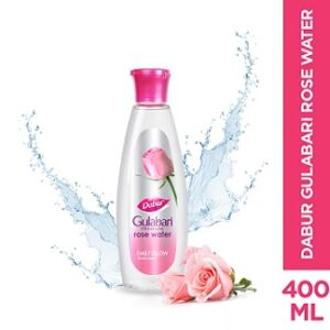 DABUR Gulabari Premium Rose Water 100% Natural 400 ml