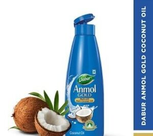 Dabur Anmol Gold 100 % Pure Coconut Oil – 500ml worth Rs.185 for Rs.115 @ Amazon