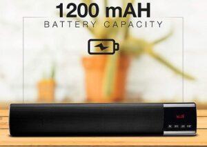 FLiX (Beetel) Bar Mini 10W Bluetooth Speaker with Mic for Rs.1215 @ Amazon