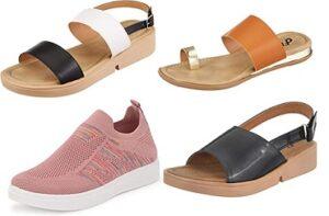 Flavia Women's Footwear upto 90% Off starts Rs.205 @ Amazon