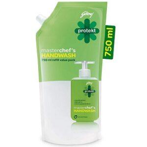 Godrej Protekt Masterchef's Germ Protection Liquid Handwash 750ml for Rs.72 @ Amazon Pantry