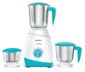 Havells ASPRO 500 Watt Mixer Grinder with 3 Stainless Steel Jar with 5 year motor warranty for Rs.1119 @ Amazon