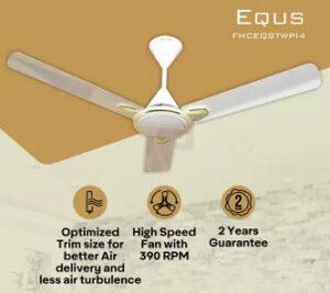 Havells Equs 1200 mm 3 Blade Ceiling Fan for Rs.1690 @ Flipkart