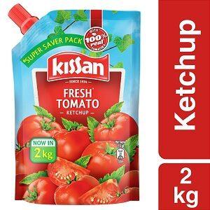 Kissan Fresh Tomato Ketchup 2 kg for Rs.218 @ Amazon