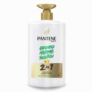 Pantene 2 in 1 Silky Smooth Care Shampoo + Conditioner, 1000 ml