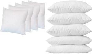 Pillow pack of 5 upto 87% off starts Rs.225 @ Flipkart