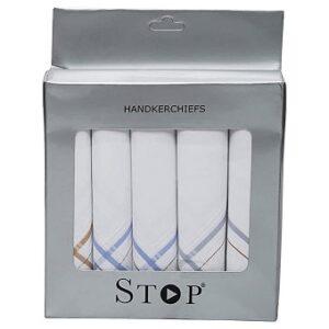 Shoppers Stop Men Handkerchiefs - Set of 5