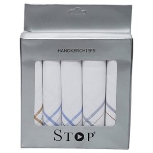 Shoppers Stop Men's Handkerchiefs – Set of 5 Rs. 160 @ Amazon