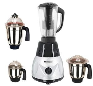 Sunmeet MG16-710 4 1000 Watts Plastic Mixer Grinder Direct Factory Outlet Jars for Rs.2599 @ Amazon