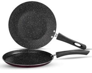 Vinod Supreme Induction Friendly Non-Stick Cookware Set, 2 pcs