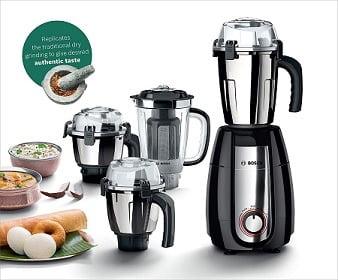 Bosch Appliances TrueMixx Pro Mixer Grinder 750W 4 Jars for Rs.4998 @ Amazon