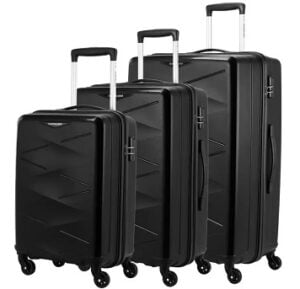 Kamiliant by American Tourister Hard Body TRIPRISM SPINNER Set of 3 Luggage