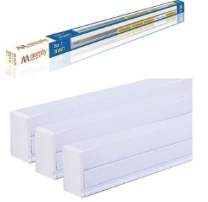 Murphy 20-Watts LED White Tubelight Pack of 3 for Rs.590 @ Amazon