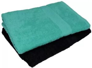 NANDAN GEMS Cotton 380 GSM Bath Towel Set (Pack of 2) for Rs.369 @ Flipkart