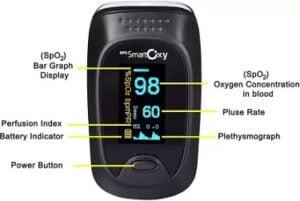 BPL SmartOxy Pulse Oximeter for Rs.949 @ Flipkart