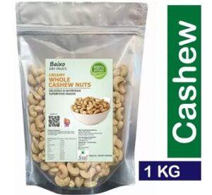 Baixo Cashew Nuts W240 Cashews (1 kg) for Rs.759 @ Flipkart