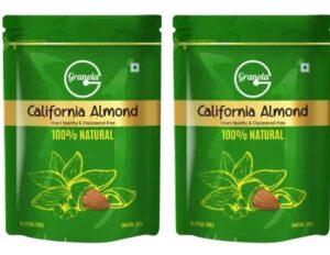 Granola 100% Natural California Almonds (2 x 500 g) for Rs.583 @ Flipkart
