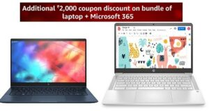 Laptops – Extra Rs.2000 off Coupon @ Amazon