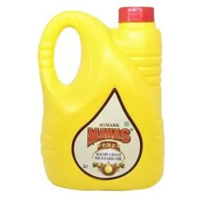 MANAS GOLD Kachi Ghani Mustard Oil 2 L for Rs.299 @ Flipkart