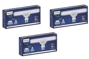 Philips T bulb 12 Watt LED Bulb, Base B22 (Pack of 3)