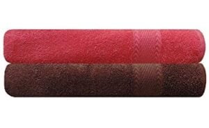 Trendify Premium Bath Towel 480 GSM (Set of 2) for Rs.499 @ Amazon