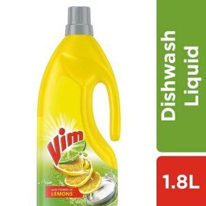 Vim Dishwash Liquid Gel Lemon 1.8 Ltr for Rs.309 @ Amazon