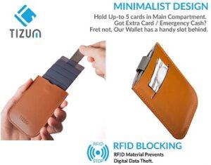 tizum Z26 Ultra Slim Anti Theft RFID Credit Card Wallet case for Rs.139 @ Flipkart